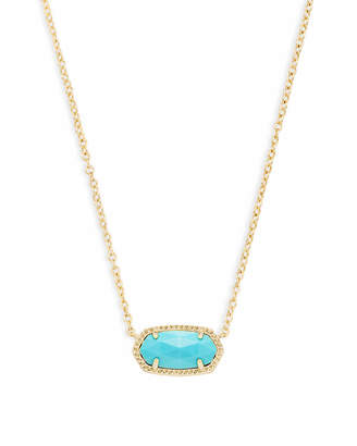 Kendra Scott Elisa Pendant Necklace in Gold