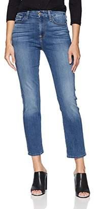 Jen7 Women's Straight Crop & ROLL Jeans