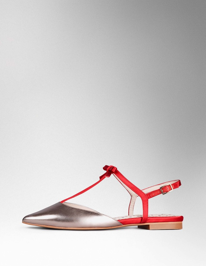 BodenIsabel Bow Pointed Flat