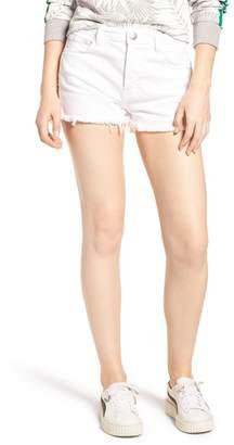 Current\u002FElliott The Ultra High Waist Cutoff Denim Shorts (Sugar)