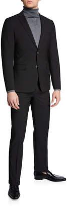 Neiman Marcus Men's Mini Neat Weave Slim Fit Two-Piece Suit