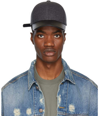 Mackage Grey and Black Zoltan Cap