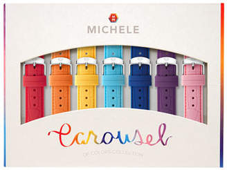 Michele Carousel 18mm Silicone Watch Strap Gift Set