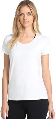 Danskin Women's Half Moon Short Sleeve Tee