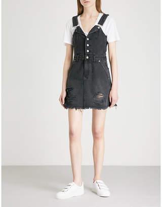 Ksubi Palms denim mini dress