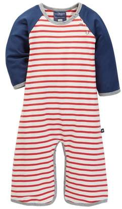 Toobydoo Charlie Striped Jumpsuit (Baby Boys)