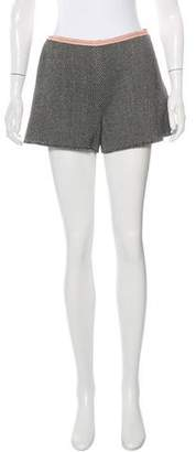 Miu Miu Wool High-Rise Shorts