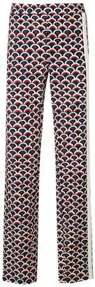 Valentino scale print trousers
