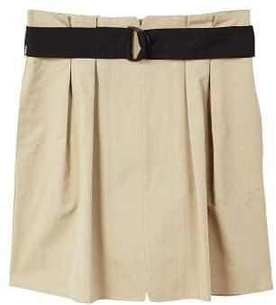 MANGO Belted skirt