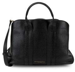Donna Karan Large Perry Leather Satchel