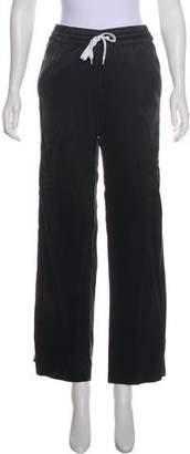 Amiri Silk Mid-Rise Pants