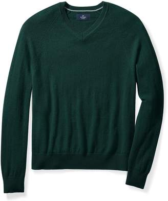 Buttoned Down Men's 100% Cashmere V-Neck Sweater Sweater