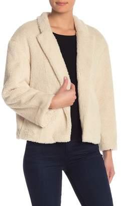 14th & Union Faux Shearling Jacket (Regular & Petite)