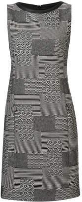 Akris Punto printed shift mini dress