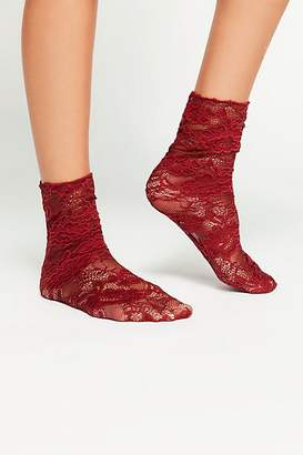 Me Moi Memoi Bella Lace Crew Sock