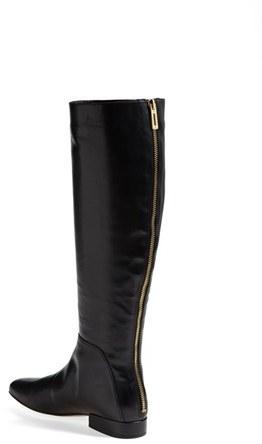 Ivanka Trump 'Ordell' Square Toe Riding Boot (Narrow Calf)(Special Purchase)
