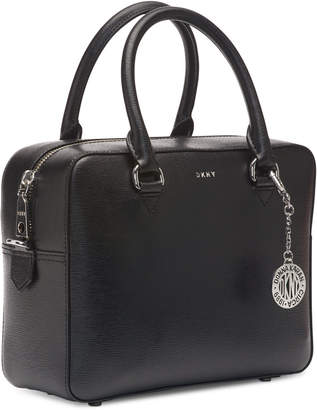 DKNY Bryant Sutton Leather Zip Satchel