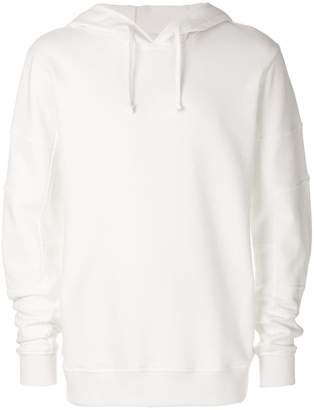 Comme des Garcons oversized hooded sweatshirt