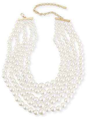 Fallon Monarch Pearly Choker Bib