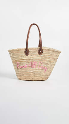 DAY Birger et Mikkelsen Poolside Bags La Pliage 'Rose All Day' Tote