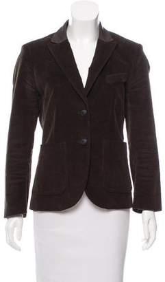 Rag & Bone Corduroy Long Sleeve Blazer
