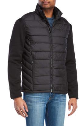Michael Kors Hybrid Softshell Down Jacket