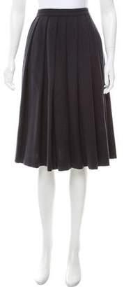 Missoni Pleated Wool Skirt