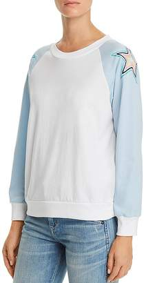 Wildfox Couture Starbright Embroidered Sweatshirt