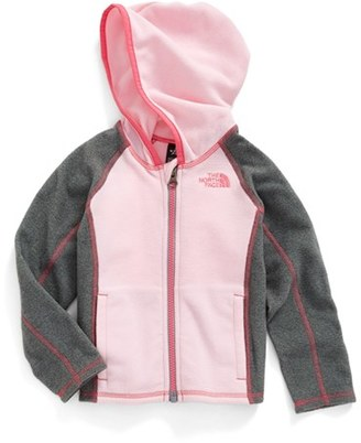 Toddler Girl's The North Face Glacier Fleece Hooded Jacket $40 thestylecure.com