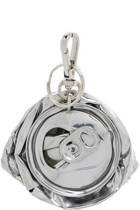 Raf Simons Crushed Can Keyhanger in Silver | FWRD