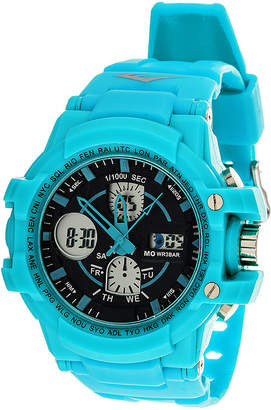 Everlast Blue Strap Analog/Digital Sport Watch