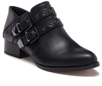 Vince Camuto Cosmika Buckle Leather Bootie