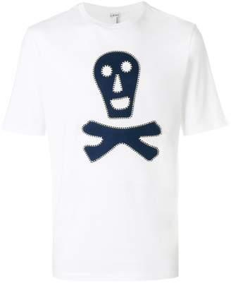 Loewe skull print T-shirt