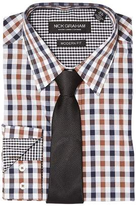 Nick Graham Mini Multi Gingham Men's Clothing