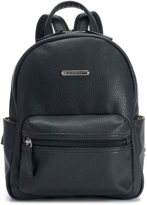 Co Stone & Pebbled Leather Dome Mini Backpack