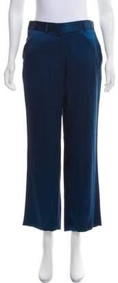 Haider Ackermann Silk High-Rise Pants