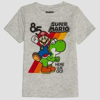 BEIGE Super Mario Toddler Boys' Super Mario Short Sleeve T-Shirt