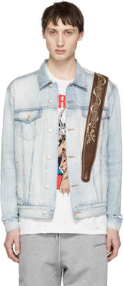 Warren Lotas Indigo Denim Unforgiven Trucker Jacket