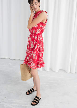 And other stories Sleeveless Frill Dress