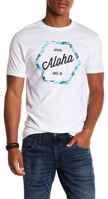 Rip Curl Aloha Short Sleeve Standard Fit Tee