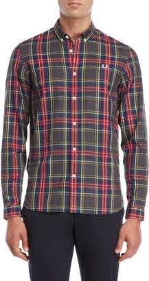 Fred Perry Tartan Button-Down Shirt
