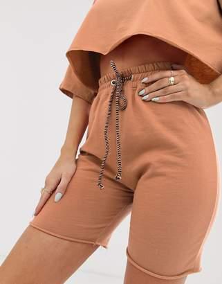 Public Desire X Lissy Roddy sweat shorts two-piece