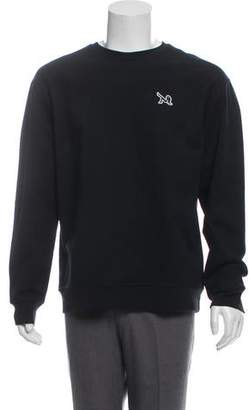 Calvin Klein Crew Neck Appliqué Sweater w/ Tags