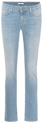 7 For All Mankind Pyper mid-rise skinny jeans