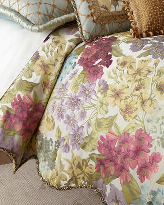 Sweet Dreams Giverny Floral Queen Duvet