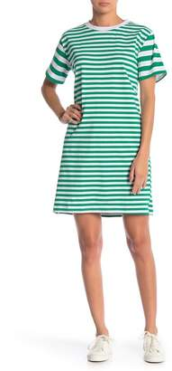 Cotton Emporium Thick Thin Stripe Dress