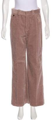Chloé High-Rise Corduroy Pants