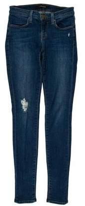 J Brand Low-Rise Super Skinny Jeans