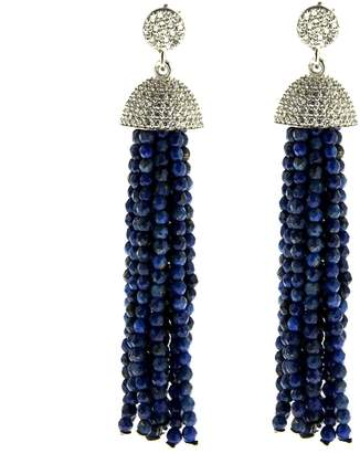 Lapis Cosanuova - Sterling Silver Tassel Earrings