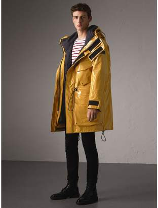 Burberry Seam-sealed Weatherproof Coat with Down-filled Warmer $3,695 thestylecure.com